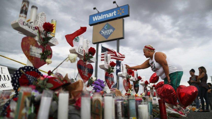 El Paso shooting memorial Walmart