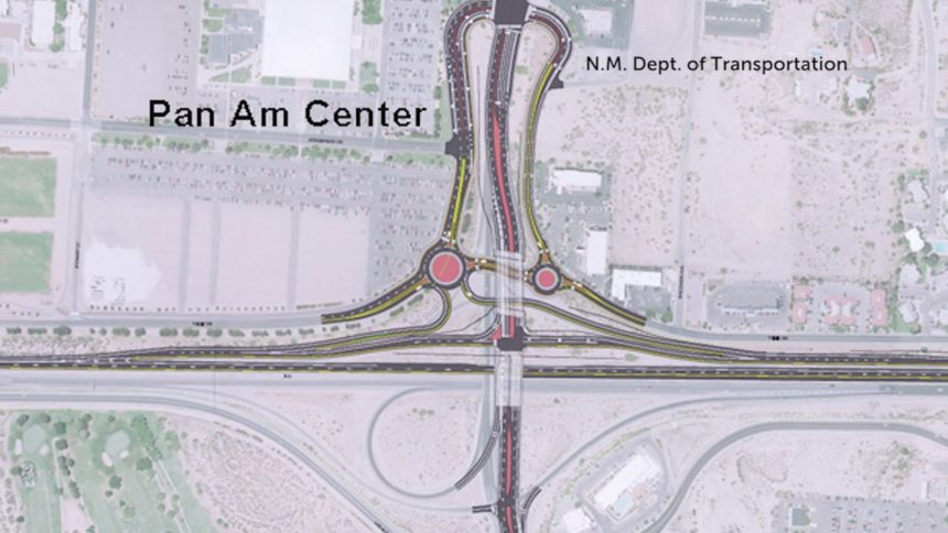 Las Cruces I-25 interchange
