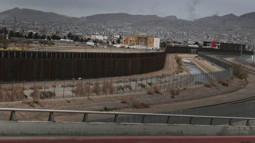 U.S.-Mexican border wall El Paso