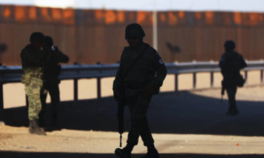 Mexico border soldiers