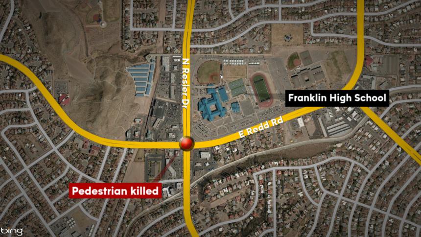 pedestrian killed map