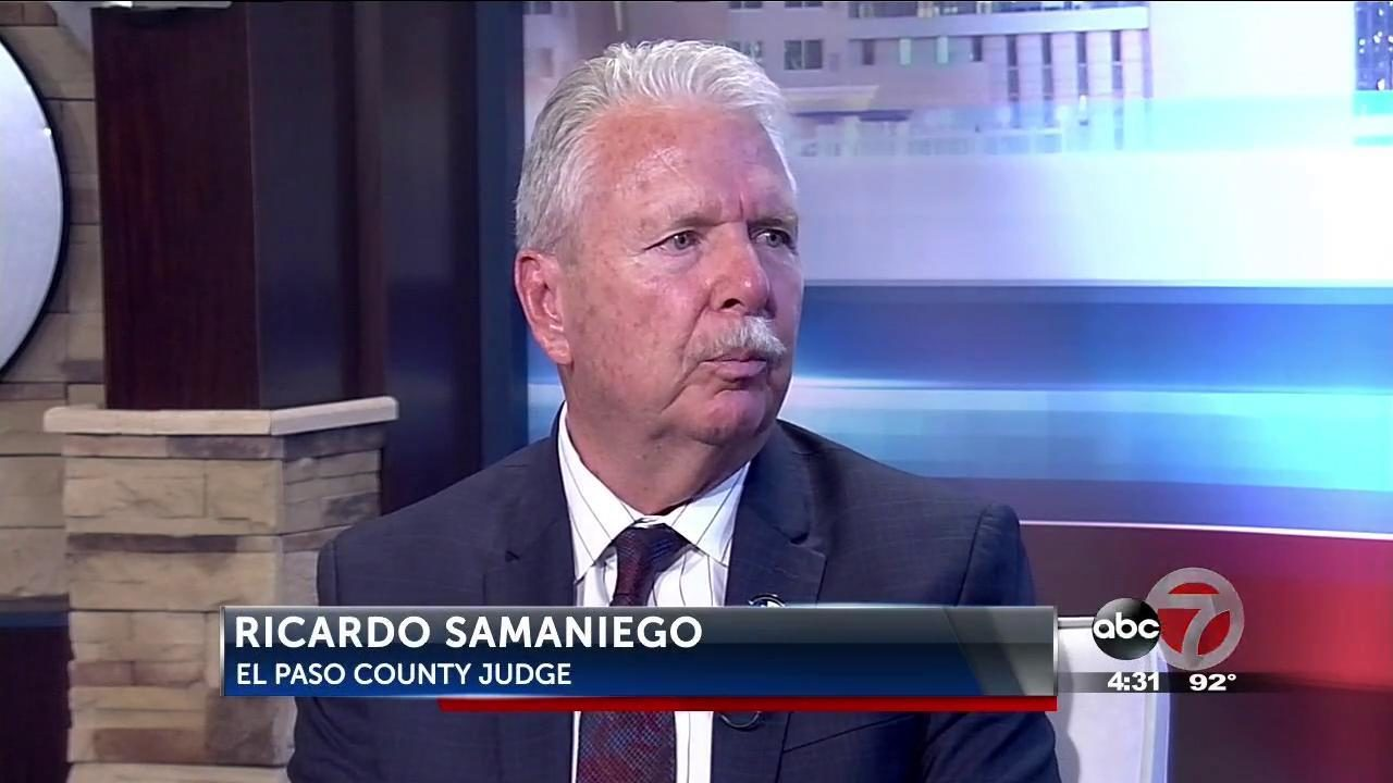 El Paso County Judge Ricardo Samaniego discusses veterans issues - KVIA