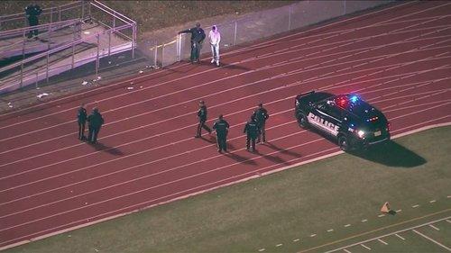 high school football shooting