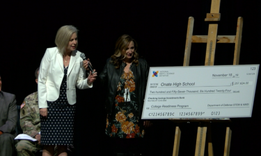 Oñate High School check