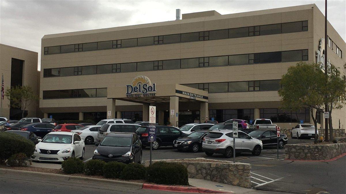 The main entrance to El Paso's Del Sol Medical Center.