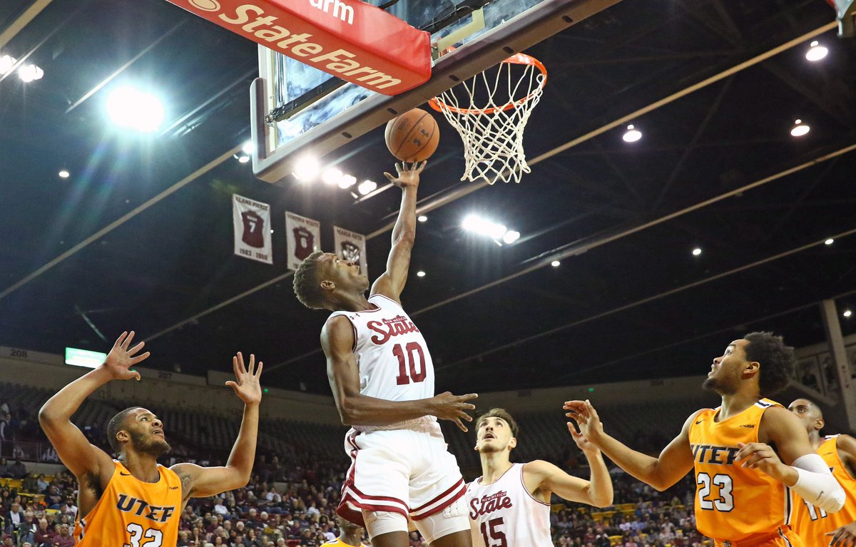 The Aggies outscored the Miners on Tuesday night's Battle of I-10 rematch.