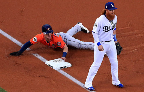 Astros Dodgers Game 7 World Series 2017