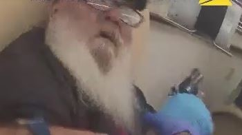 officer disarms man