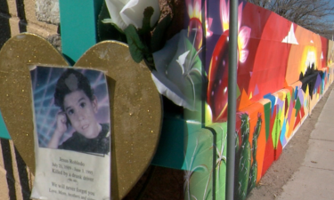 mural for DWI victim