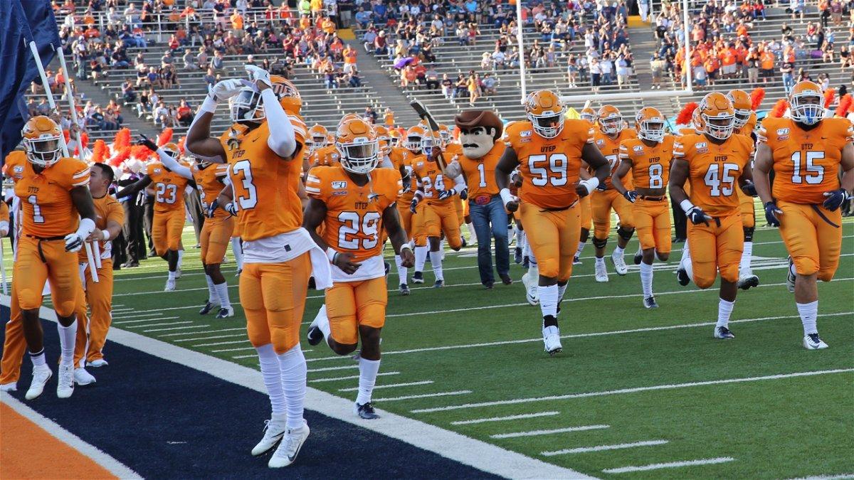 Home Opener Vs Texas Tech Battle Of I 10 At Sun Bowl Highlight Utep S 2020 Football Schedule Kvia