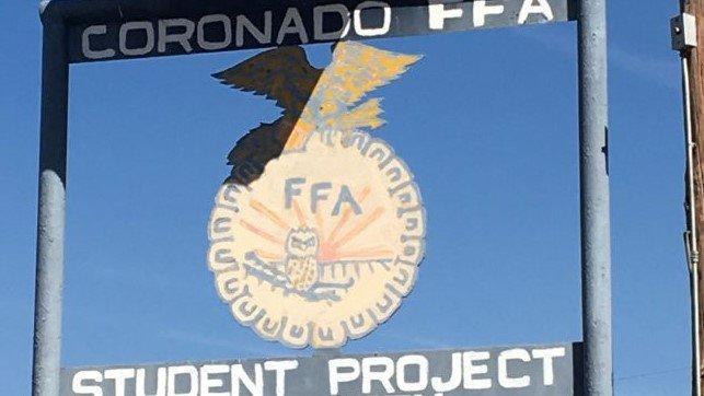 Coronado FFA student project