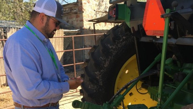 Tractor repair training