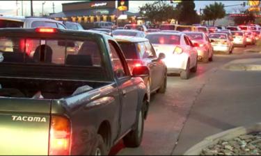 mesa street traffic