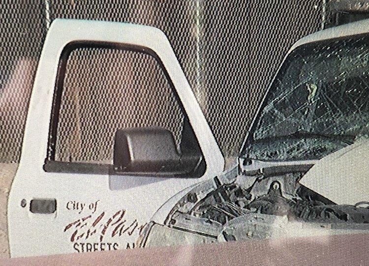 city truck crashes