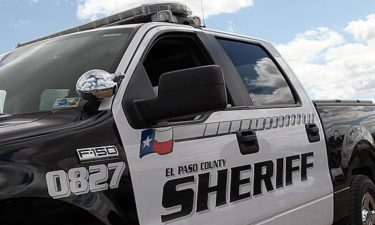 El Paso County Sheriff's Office vehicle