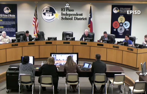 episd board meeting
