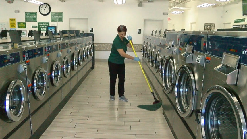 Should You Be Concerned About Virus Spread When You Take Your Clothes To The Dry Cleaner Or Laundromat Kvia