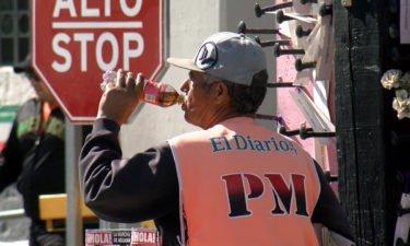 Juarez bridge vendor