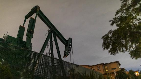 An oil pump jacks crude in this file photo.