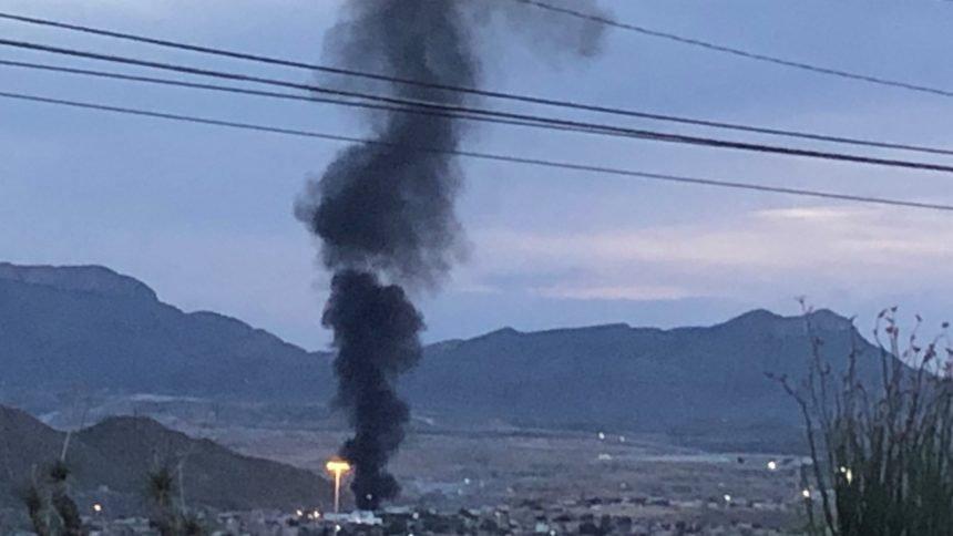 smoke mexico fire