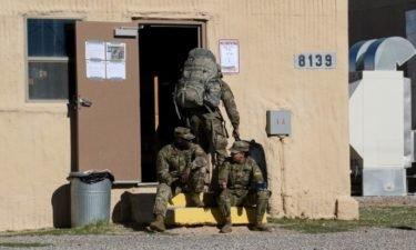 Fort Bliss quarantine