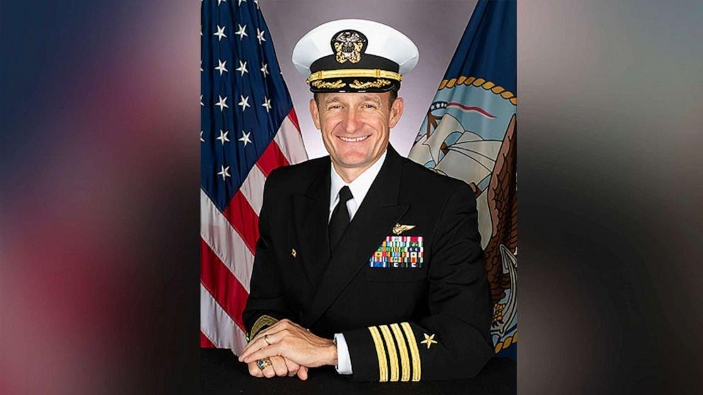 Navy Capt. Brett Crozier