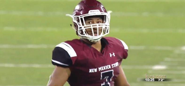 NMSU linebacker Javahn Ferguson