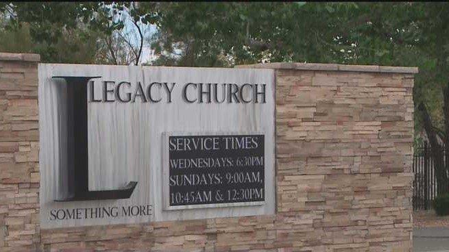The Legacy Church, a mega-church in Albuquerque, New Mexico.