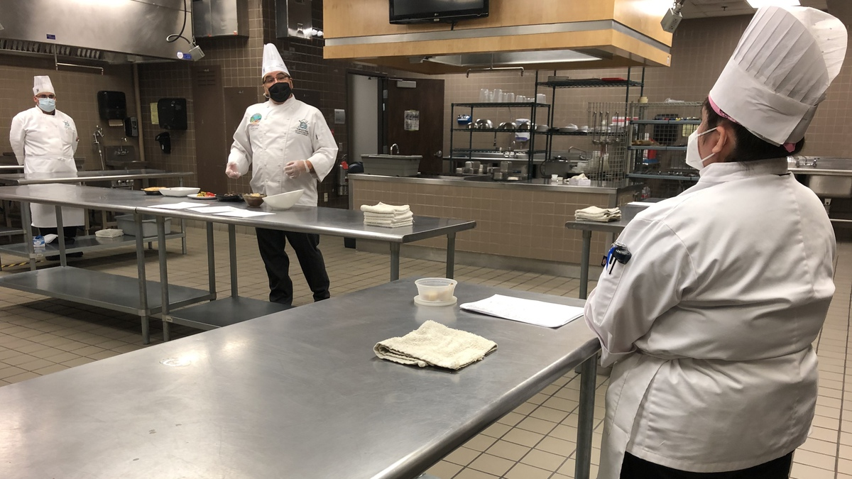 EPCC culinary arts students