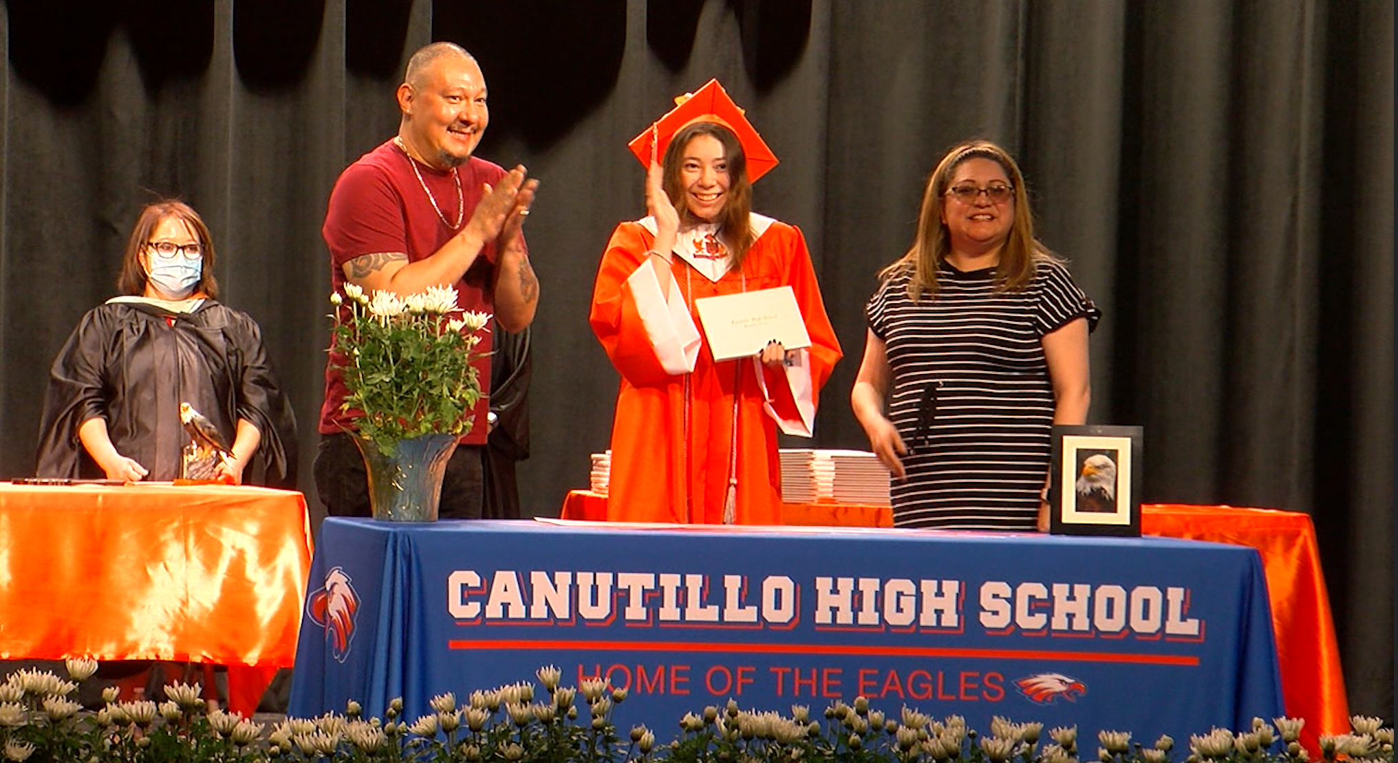 Canutillo High School 2020 commencement ceremony