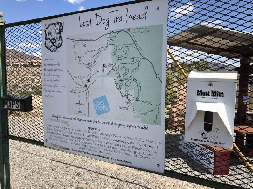 lost dog trail