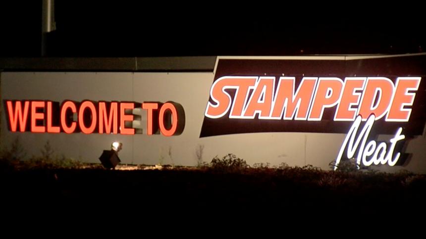 stampede-meat-sign