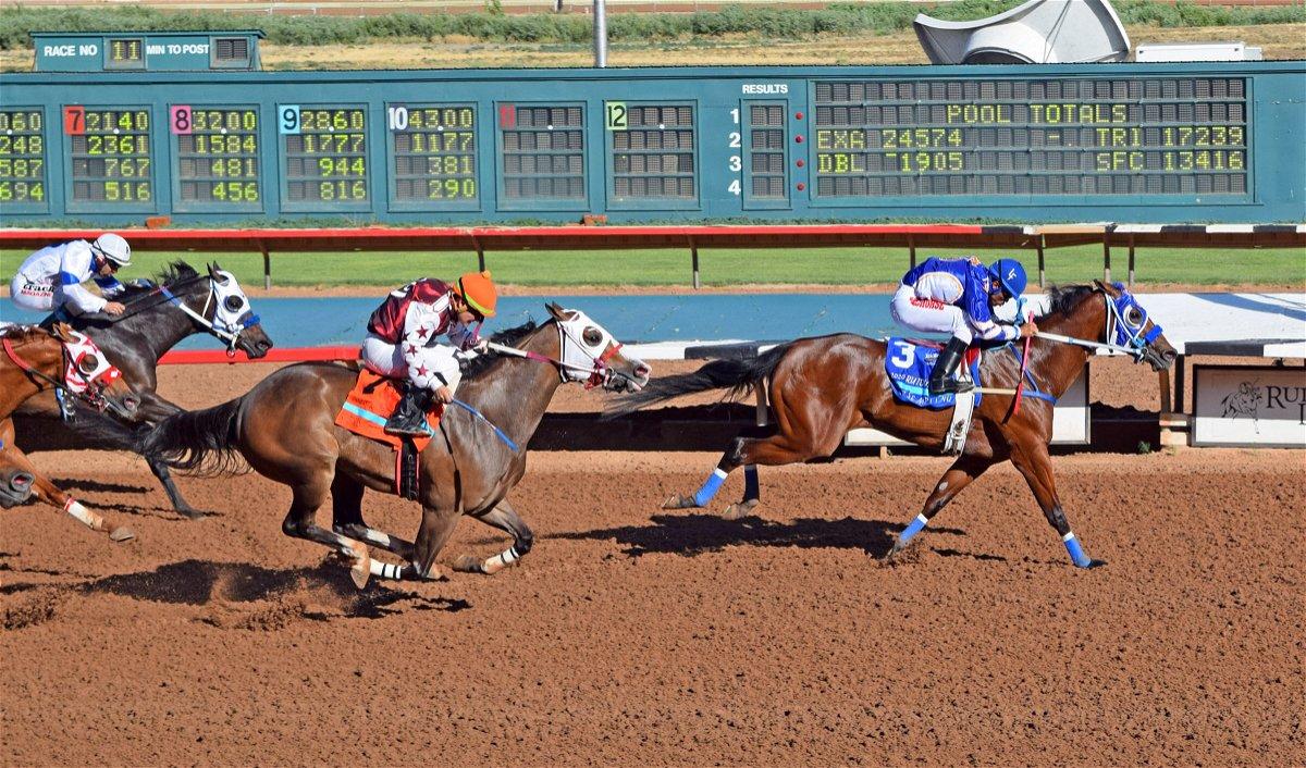 Ruidoso Derby Winner Hotsempting