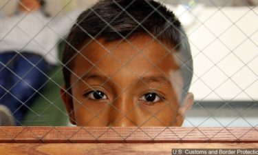 migrant child detained