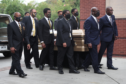 Rayshard Brooks funeral