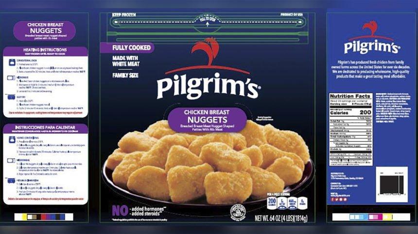 Pilgrim's Pride chicken breast nuggets