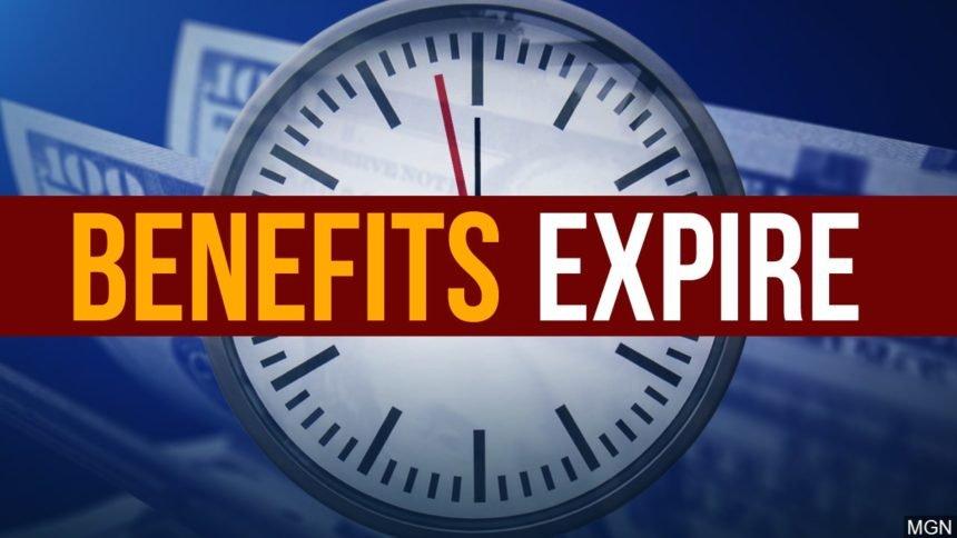 unemployment benefits expire