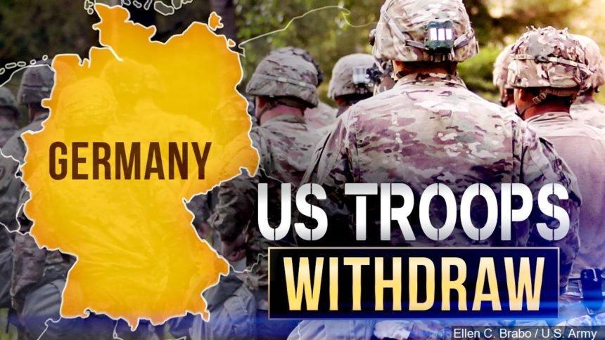 u.s. troops withdraw Germany