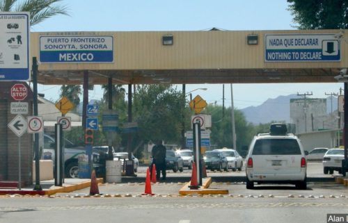 arizona mexico border