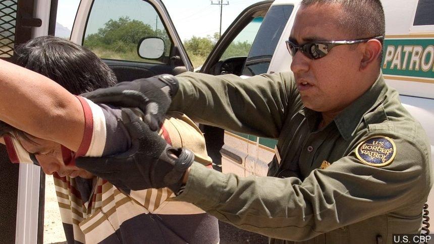 border arrest