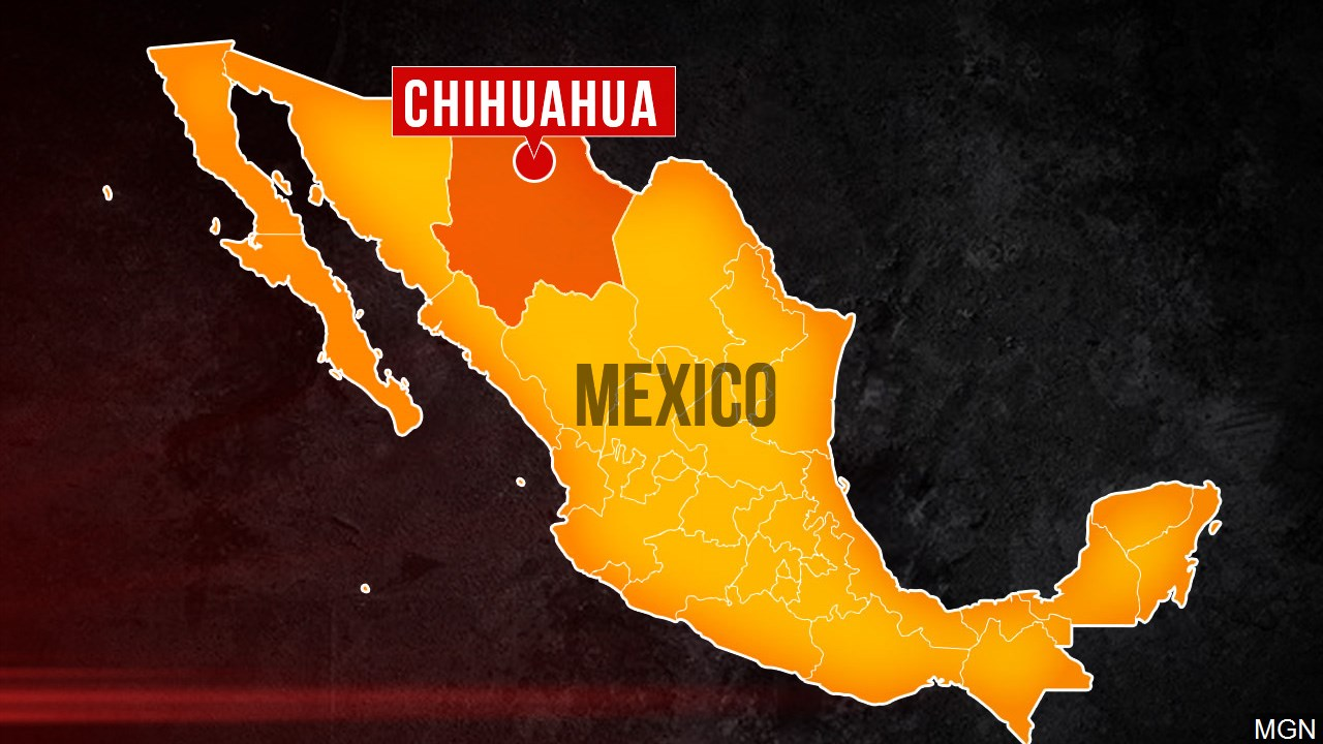 chihuahua mexico map