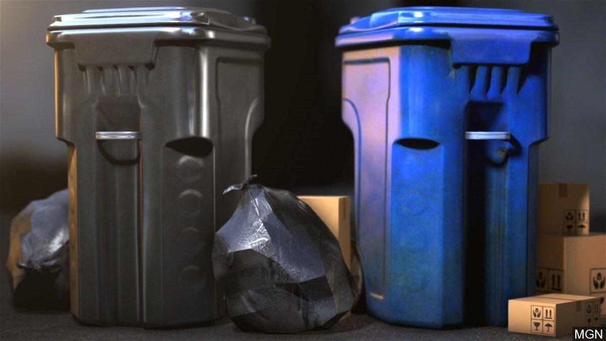 garbage trash recycling