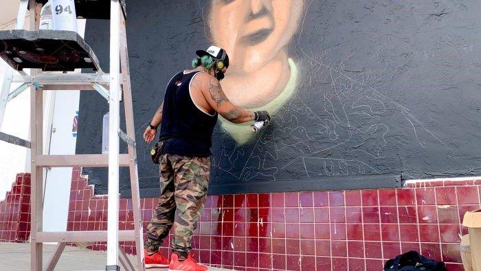 Vanessa Guillen Mural Gabriel Vasquez