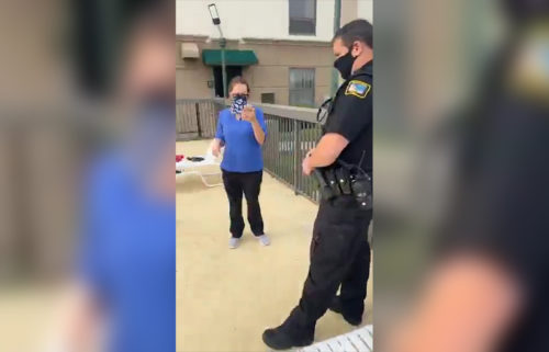 hotel employee who called police