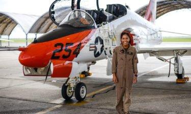 black woman fighter pilot