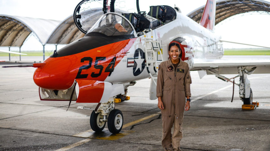 black woman fighter pilot