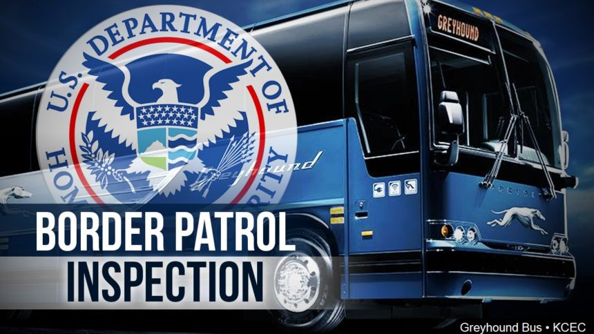 border patrol bus inspection