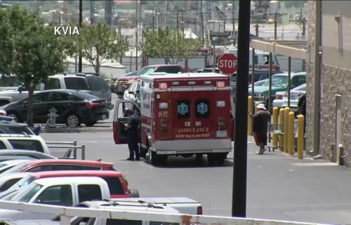 ambulance-walmart-shooting-scene