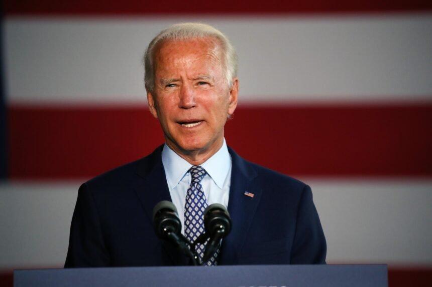 Democratic nominee Joe Biden