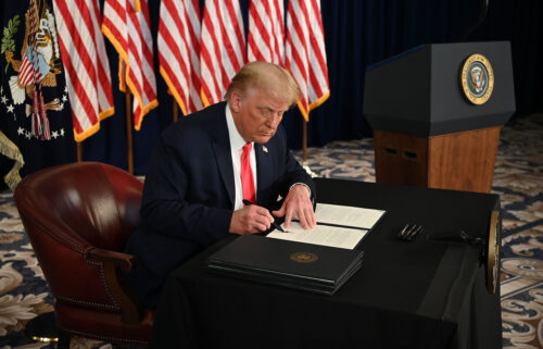 TRUMP signs executive orders